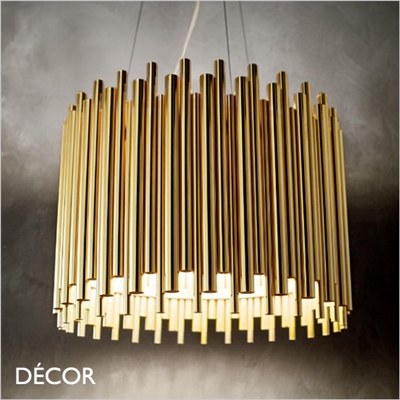 PAN PENDANT LIGHT, BRASS
