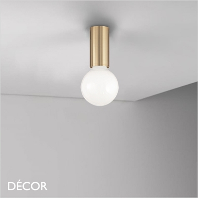 PETIT CEILING LIGHT, BRASS