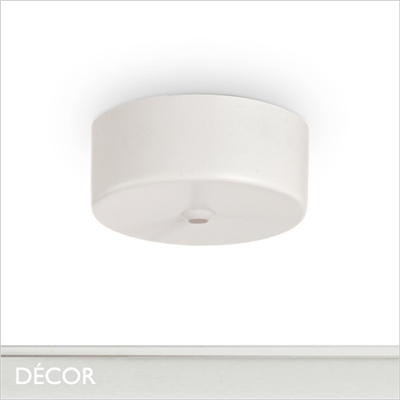 MAGNETIC CEILING ROSE, WHITE