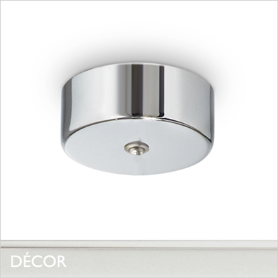 MAGNETIC CEILING ROSE, CHROME