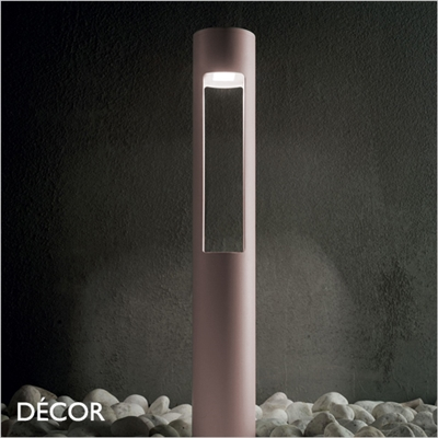 ACQUA OUTDOOR POST LIGHT, COFFEE