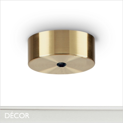 MAGNETIC CEILING ROSE, BRASS