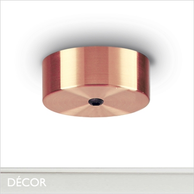 MAGNETIC CEILING ROSE, COPPER