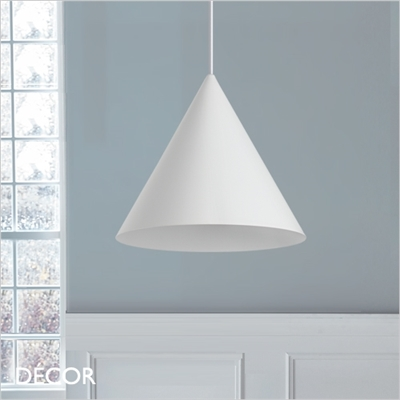 A-LINE PENDANT LIGHT, WHITE