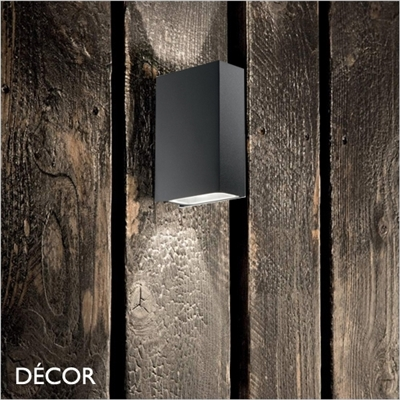 TETRIS 2 OUTDOOR WALL LIGHT, WATER & MOISTURE RESISTANT