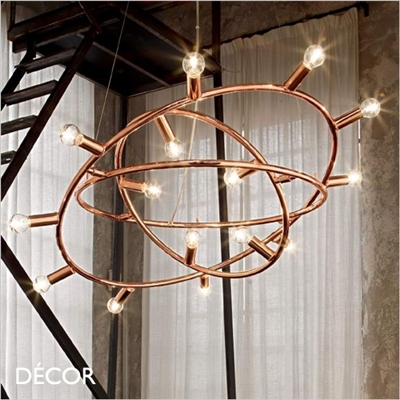 COSMO PENDANT LIGHT, COPPER, 2 SIZES