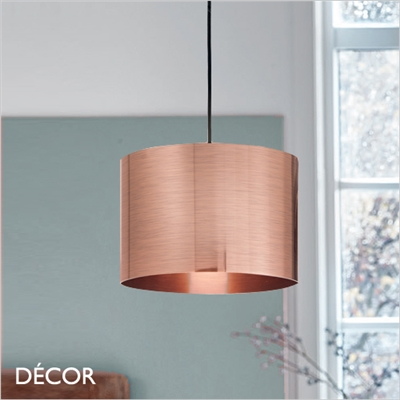 FOIL 30 PENDANT LIGHT, COPPER