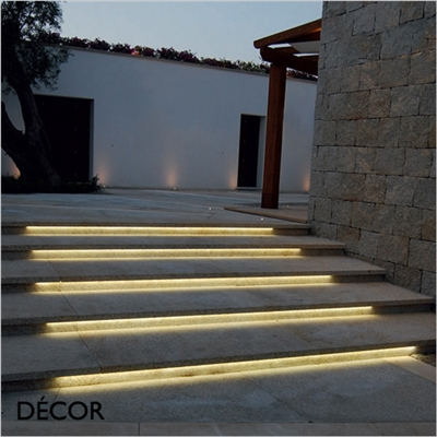 LED STRIP WATER RESISTANT OUTDOOR WALL LIGHT, WATER & MOISTURE RESISTANT