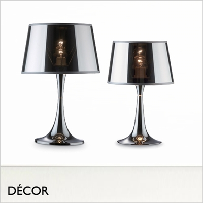 LONDON CROMO TABLE LAMP CHROME