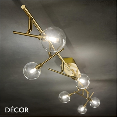 MARACAS CEILING LIGHT BAR, 4 & 6