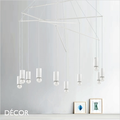 POP MULTIPLE SUSPENSION LIGHT, WHITE