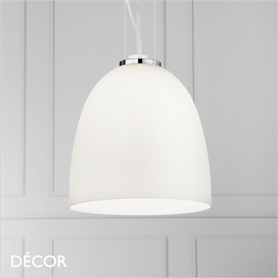 EVA PENDANT LIGHT, WHITE