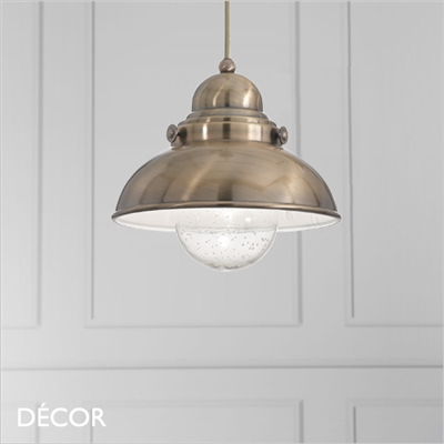 SAILOR 29 & SAILOR 43 PENDANT LIGHT, BRASS