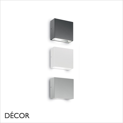 TETRIS 1 OUTDOOR WALL LIGHT, WATER & MOISTURE RESISTANT