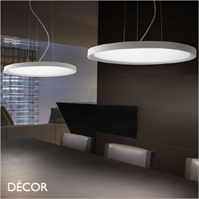 UFO ROUND SUSPENSION LIGHT, 2 SIZES