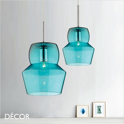 ZENO PENDANT LIGHT, BLUE