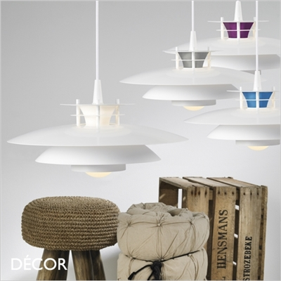 LD 240 PENDANT LIGHT, WHITE