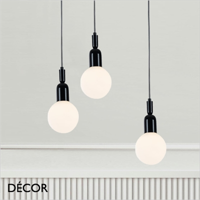 BALL SUSPENSION LIGHT, BLACK