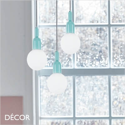 BALL SUSPENSION LIGHT, BLUE