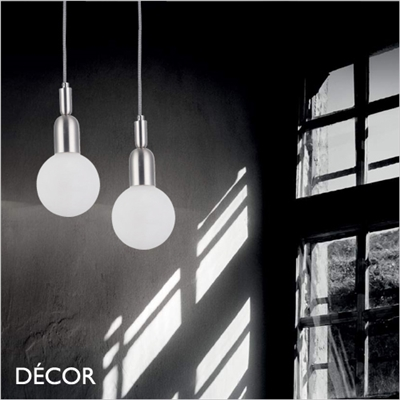 BALL SUSPENSION LIGHT, NICKEL