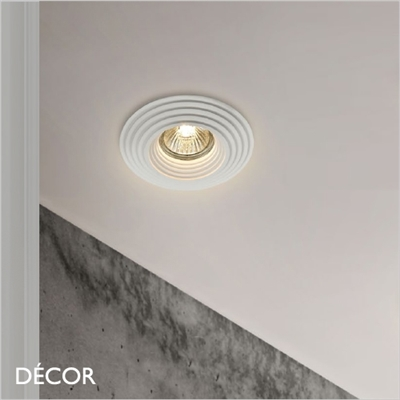 GYPS FOUR ROUND RECESSED DOWNLIGHT/ SPOTLIGHT