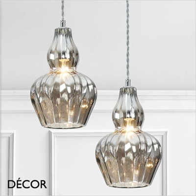 EUSTOMA PENDANT LIGHT, CLEAR