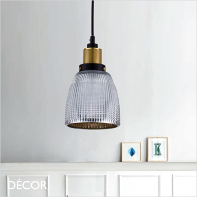 TEMPA PENDANT LIGHT, CHROMED SILVER