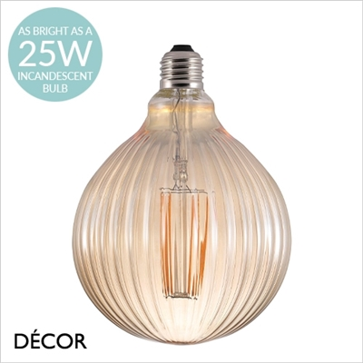 2W E27 AVRA BROWN DECORARIVE LED FILAMENT BULB