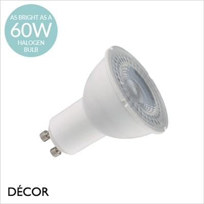 GU10 6.7W LED LED DIMMABLE SPOTLIGHT BULB