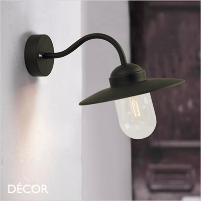 LUXEMBOURG WALL LIGHT, BLACK