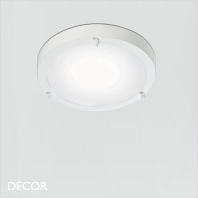 ANCONA CEILING LIGHT, E27, WHITE