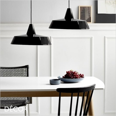 JUBILEE PENDANT LIGHT, BLACK