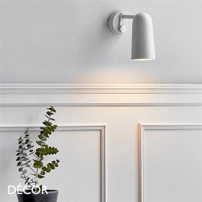 TIPPY WALL LIGHT, WHITE