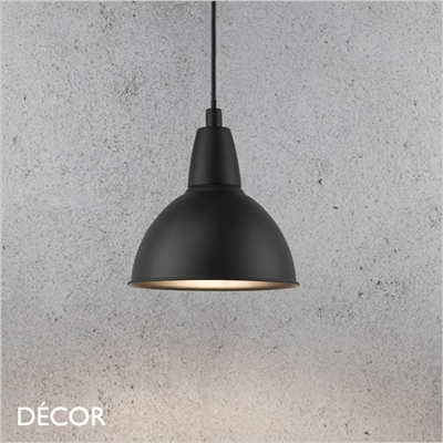 TRUDE PENDANT LIGHT, BLACK