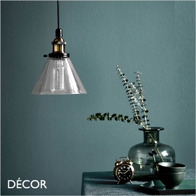 DISA PENDANT LIGHT, CLEAR