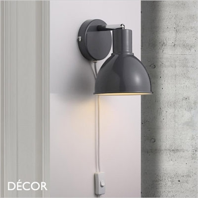 POP WALL LIGHT, DARK GREY
