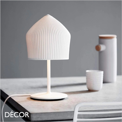 REYKJAVIK TABLE LAMP, WHITE