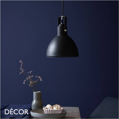 ASLAK ADJUSTABLE PENDANT LIGHT, BLACK
