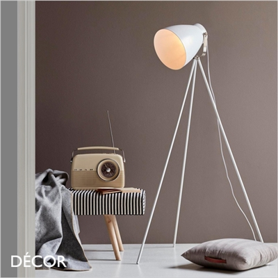 LARGO FLOOR LAMP, WHITE