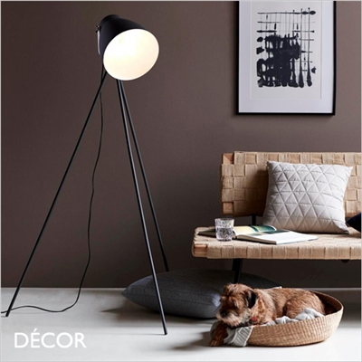 LARGO FLOOR LAMP, BLACK