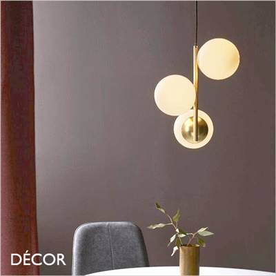 LILLY PENDANT LIGHT, BRASS