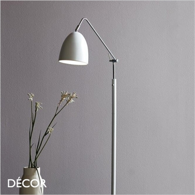 ALEXANDER FLOOR LAMP, WHITE