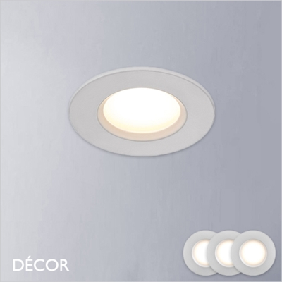 DORADO WHITE RECESSED DOWNLIGHT/SPOTLIGHT