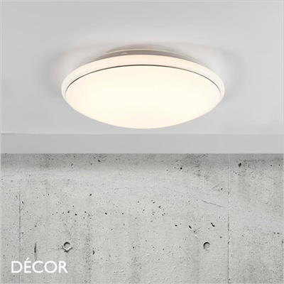 MELO 34 CEILING LIGHT, LED, WHITE