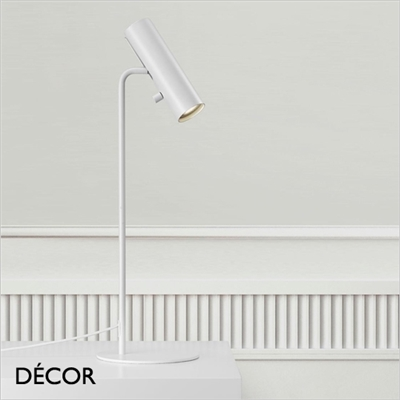 MIB 6 DESK LIGHT, RECESSED, WHITE