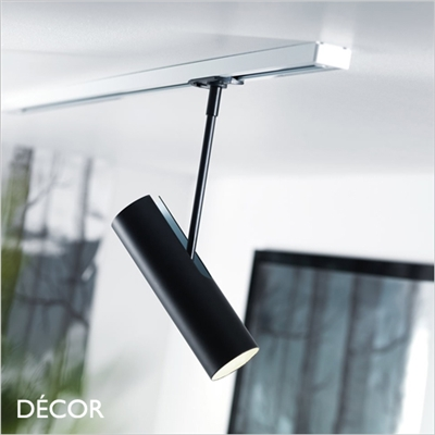 MIB 6 CEILING LIGHT FOR THE LINK SYSTEM, BLACK