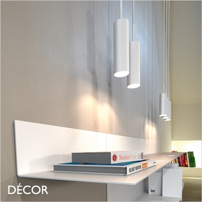MIB 6 PENDANT LIGHT, WHITE