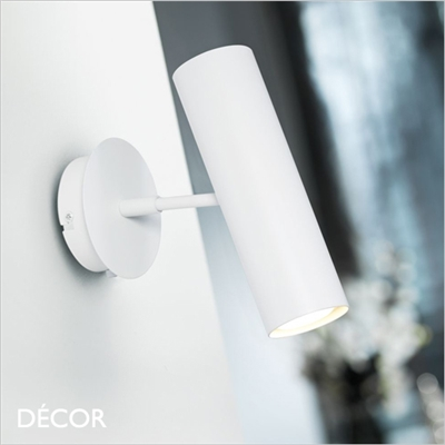 MIB 6 WALL LIGHT, RECESSED, WHITE
