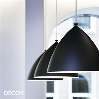 SLOPE 35 PENDANT LIGHT, BLACK