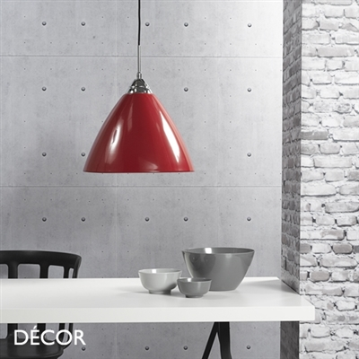 READ 20 PENDANT LIGHT, RED
